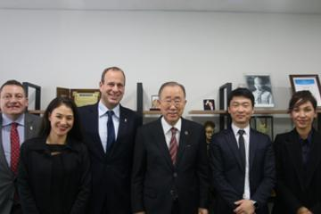 Exceptional visit of Monaco in Korea: a rich program of high-level institutional meetings - Ban-Ki Moon
