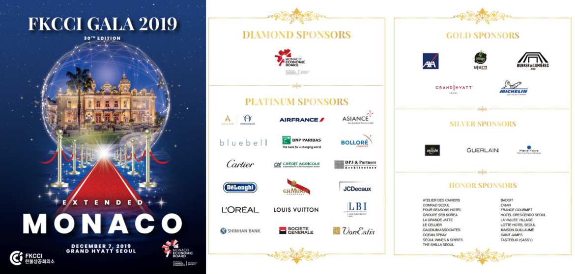 [Translate to Coréen:] Grand Gala 2019 FKCCI: Extended Monaco
