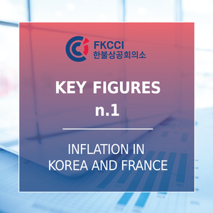 [FKCCI Key figures] Inflation in South Korea and France