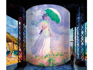 The Bunker of Light and Van Gogh's next film, Monet, Renoir, and Chagall