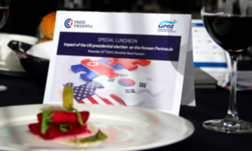 On Nov 23 FKCCI held a special luncheon on the impact of the USA presidential election on the Korean peninsula and its regional geopolitical landscape