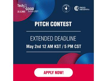 Tech4Good Summit 2021 – Pitch Contest Call for Application