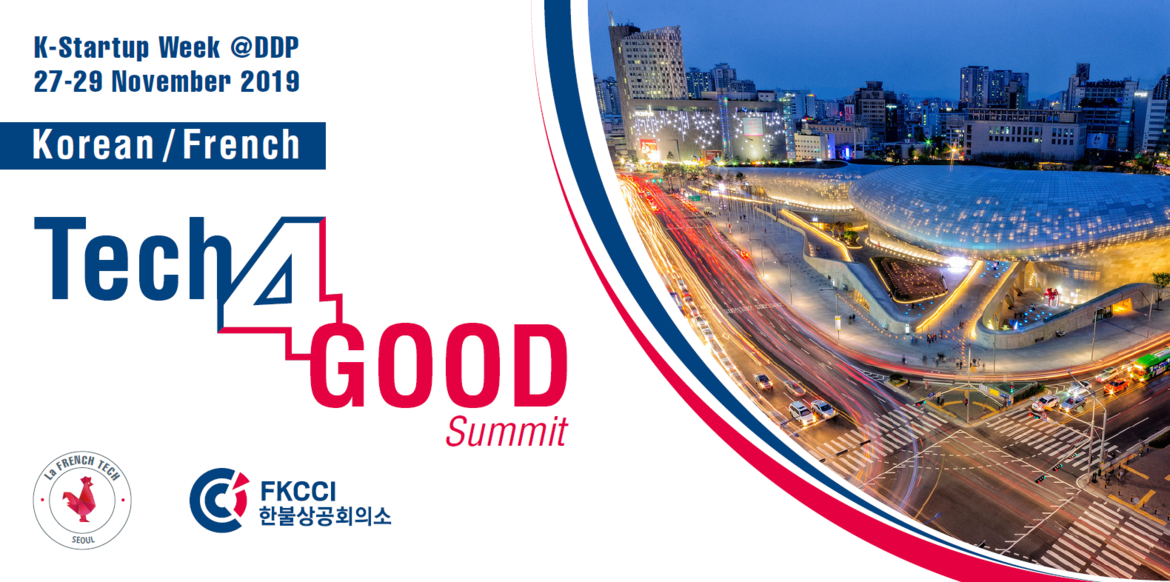 Korean French Tech for Good Summit
