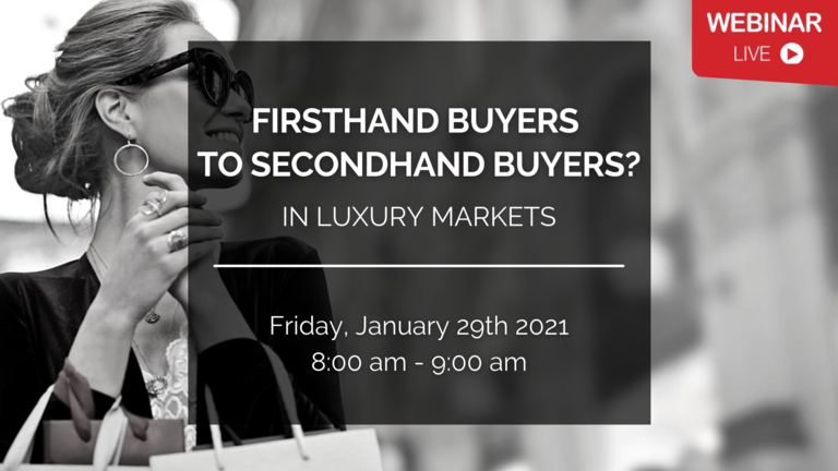 [FKCCI Webinar] Firsthand buyers to Secondhand buyers in Luxury Markets - with Boston Consulting Group (BCG)