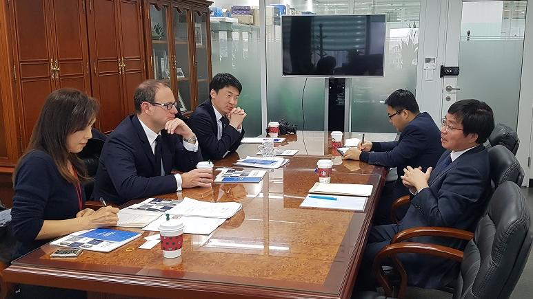 meeting between Frédéric Genta, Delegate for Digital Affairs and Member of the Government of Monaco, and Young-Jin Choi, Secretary General of the Korean Presidential Committee on the 4th IR