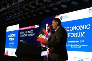 Guillaume Rose - CEO du Monaco Economic Board - Seoul Economic Forum