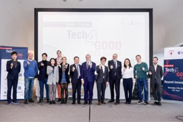 Célébration des start-ups à l'occasion du Tech4Good Summit France-Corée le 27 novembre
