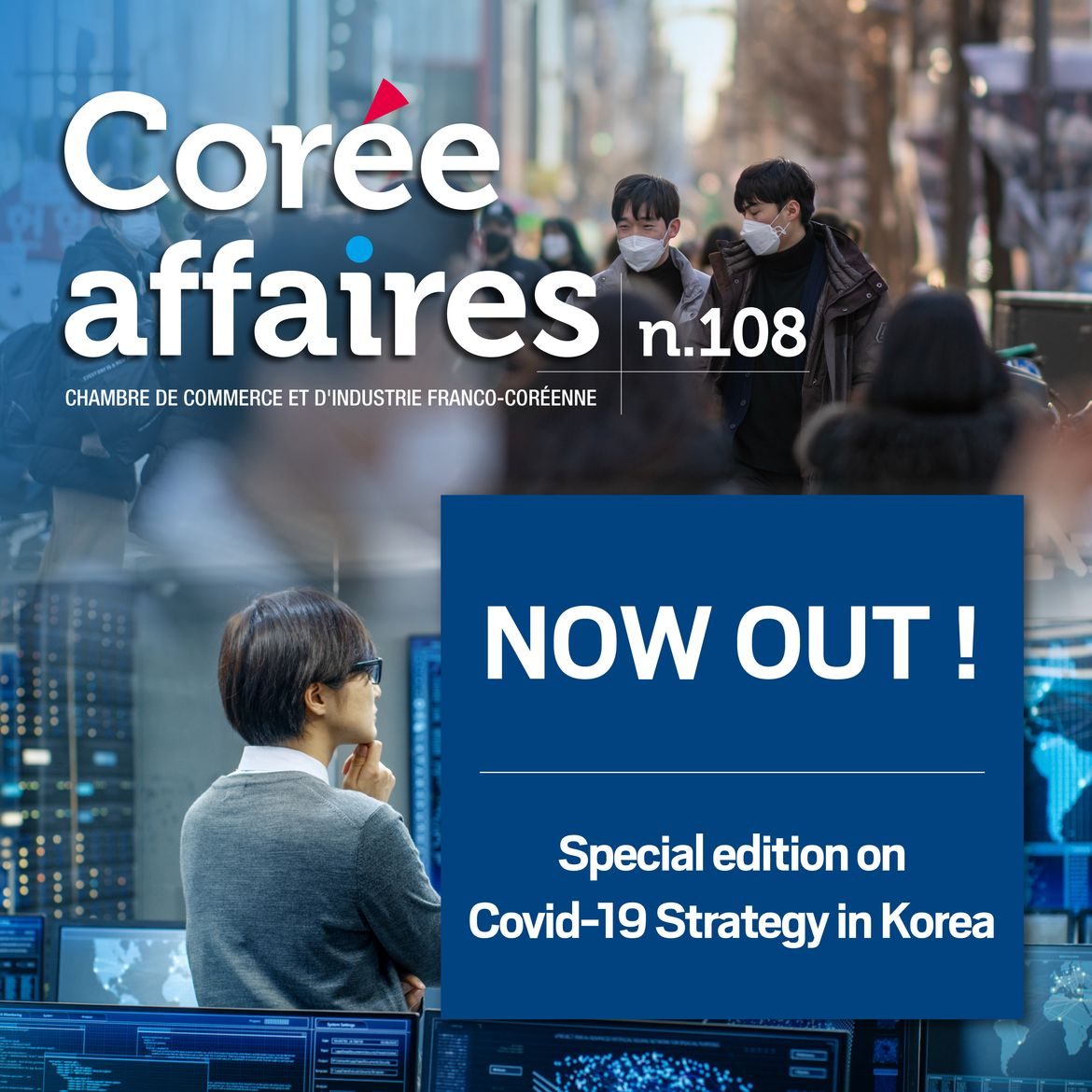 Coree Affaires 108: The Korean strategy against Covid-19