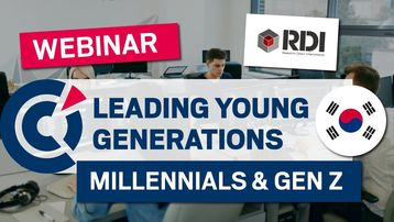 [Webinar] The challenges of managing Korean generation Zs and millennials in Korea with RDI Worldwide and FKCCI