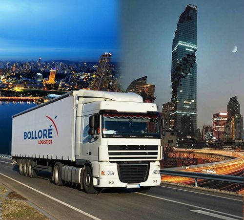 Bolloré new road service from Singapore to Bangkok