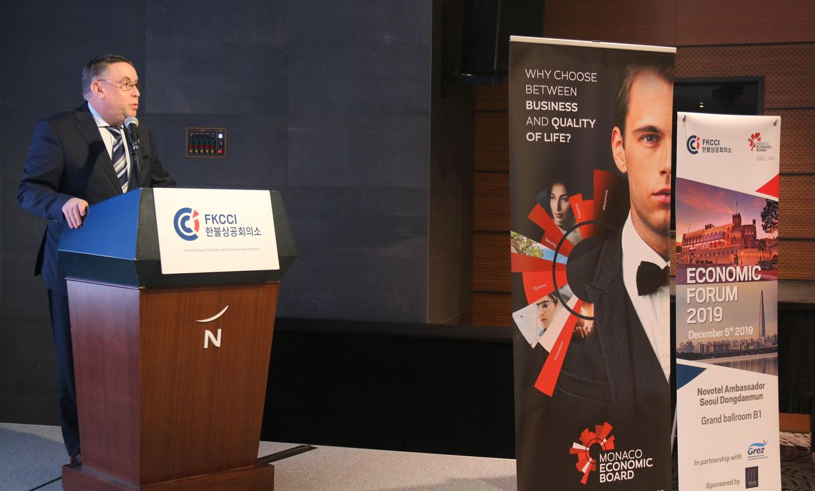 [Translate to Coréen:] Monaco - Korea - Economic Forum